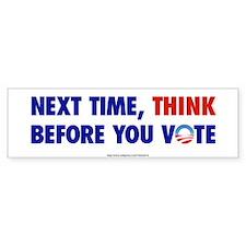 """""""Think 2012"""" Bumper Bumper Sticker"""