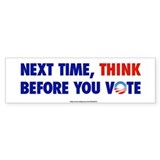&amp;quot;Think 2012&amp;quot; Bumper Bumper Stickers