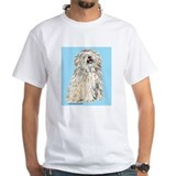 White Puli Sit Shirt