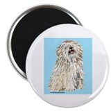 "White Puli Sit 2.25"" Magnet (10 pack)"