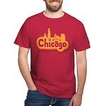 Retro Chicago Dark T-Shirt