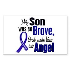 Angel 1 SON Colon Cancer Rectangle Decal