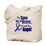 Angel 1 SON Colon Cancer Tote Bag