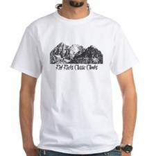 Red Rocks Classic Climbs T-Shirt (white)