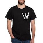 Wasted Logo pocketsetting Black T-Shirt