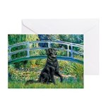 Flat Coated Retriever 2 Greeting Card