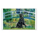 Flat Coated Retriever 2 Sticker (Rectangle)