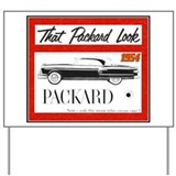 &quot;1954 Packard Ad&quot; Yard Sign