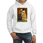 Kiss / Flat Coated Retriever Hooded Sweatshirt
