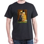 Kiss / Flat Coated Retriever Dark T-Shirt