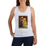 Kiss / Flat Coated Retriever Women's Tank Top