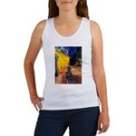 Cafe / Flat Coated Retriever Women's Tank Top