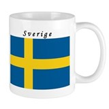 Swedish Flag Small Mug
