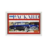 """1953 Packard Ad"" Rectangle Magnet (100 pack)"
