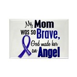 Angel 1 MOM Colon Cancer Rectangle Magnet (10 pack
