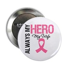 "AlwaysMyHero Wife 2.25"" Button (10 pack)"