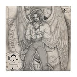 Archangel Jophiel Tile Coaster