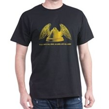 Bells and Wings Black T-Shirt