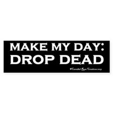 Drop Dead Sticker 2 (Bumper)