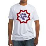 Obama Star for 2012 Fitted USA T-Shirt