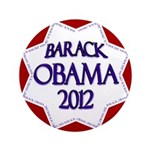 "Obama Star for 2012 3.5"" Big Button"