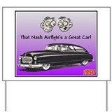 """1950 Nash Ad"" Yard Sign"