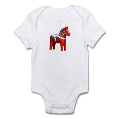 Dala Horse Infant Bodysuit