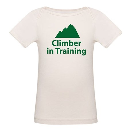 Climber in Training Organic Baby T-Shirt