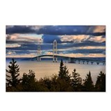 Mackinac Bridge #1060 Postcards (Package of 8)