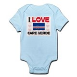 I Love Cape Verde Onesie