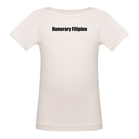 Honorary Filipino Organic Baby T-Shirt