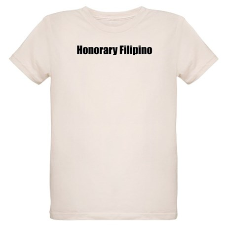 Honorary Filipino Organic Kids T-Shirt