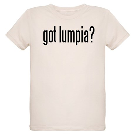 got lumpia? Organic Kids T-Shirt