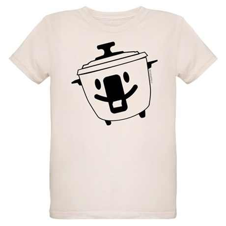 The Happy Rice Cooker Organic Kids T-Shirt