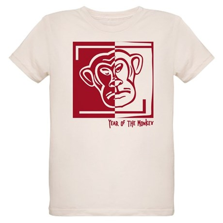 Year of the Monkey Organic Kids T-Shirt