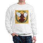 Flight Pigeon Wreath Sweatshirt