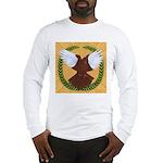 Flight Pigeon Wreath Long Sleeve T-Shirt
