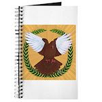 Flight Pigeon Wreath Journal
