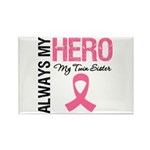 AlwaysMyHero Twin Sister Rectangle Magnet (100 pac