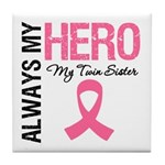 AlwaysMyHero Twin Sister Tile Coaster