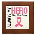 AlwaysMyHero Twin Sister Framed Tile