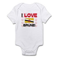 I Love Brunei Infant Bodysuit