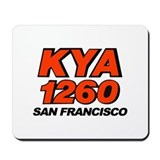 KYA San Francisco 1974 -  Mousepad
