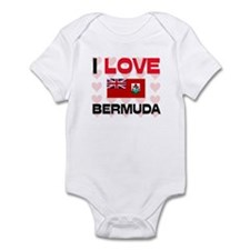 I Love Bermuda Infant Bodysuit