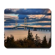 Mackinac Bridge #1060 Mousepad