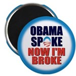 "Obama Spoke 2.25"" Magnet (100 pack)"