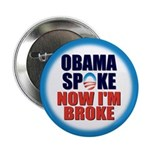 "Obama Spoke 2.25"" Button (100 pack)"