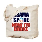 Obama Spoke Tote Bag