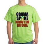 Obama Spoke Green T-Shirt