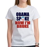 Obama Spoke Women's T-Shirt